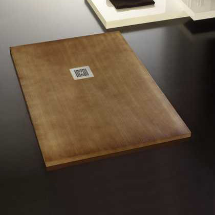 Picture Shower Tray Plate Wood Look   Type Nature